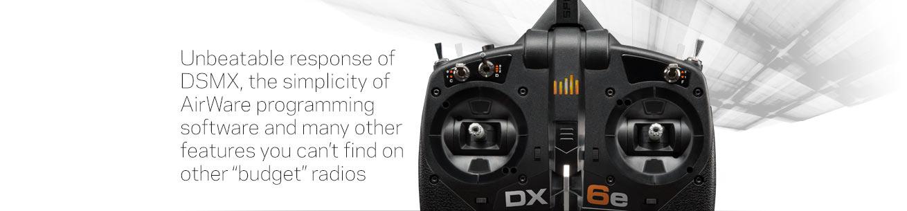 Spektrum DX6E DSMX Transmitter with AirWave