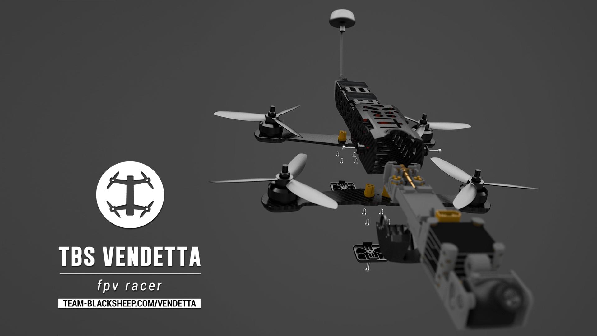 TBS Vendetta II V2 Parts