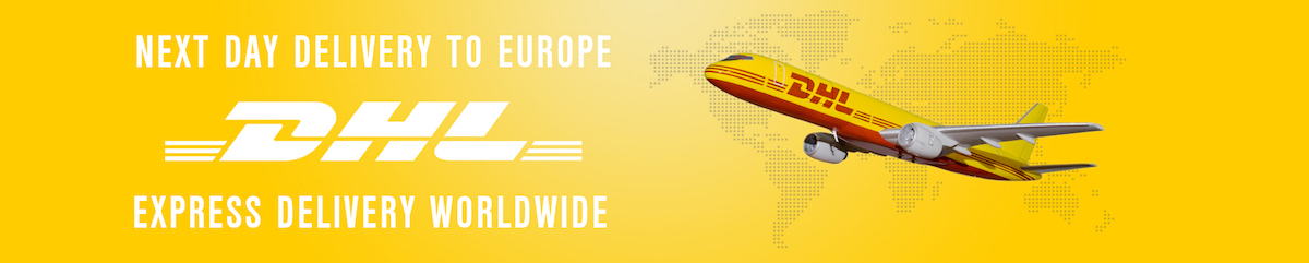 We Ship Worldwide with DHL Express