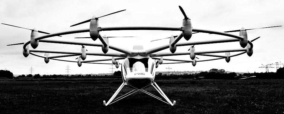 Drone Start ups and Inovation - VC200 Volocopter (e-volo)