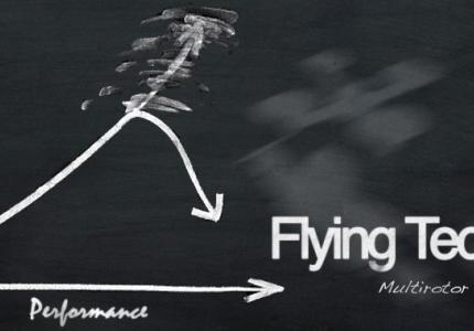 Efficiency Vs. Performance - How to achieve long multicopter flight times