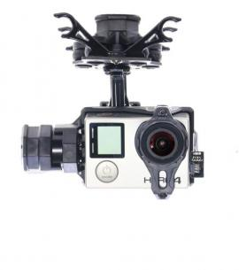 NEW Tarot T4-3D 3-Axis Brushless Gimbal for GoPro Hero 3 4