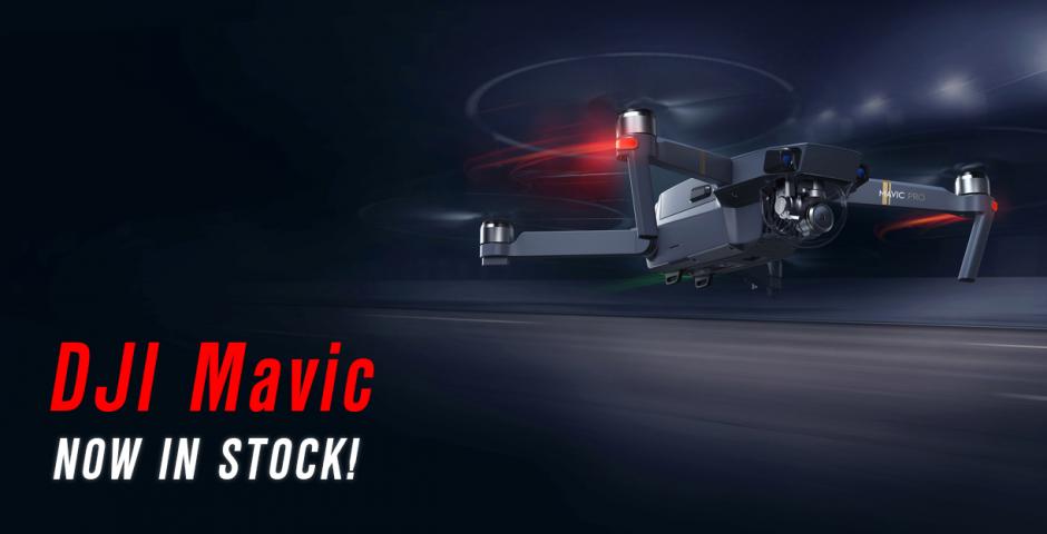 DJI Mavic Pro - RTF Foldable Quadcopter Now In Stock - UK