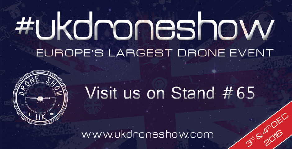 Flying Tech at the UK Drone Show NEC 3rd - 4th Dec 2016