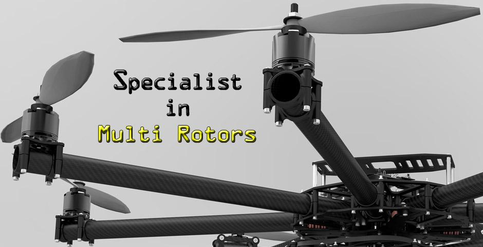 Specialist in Multi Rotor Tech