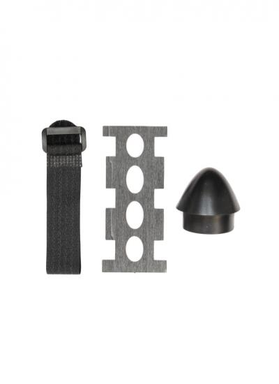FPV Kraftei 650 Spare Part Accessories - Battery Mount, Nose Cone, Velcro Strap