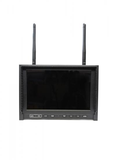 "7"" FPV Monitor w/ Dual 5.8Ghz Video Receivers"