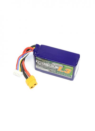 Turnigy Nano-Tech 1300mAh 4S 34~90C LiPo Battery XT60