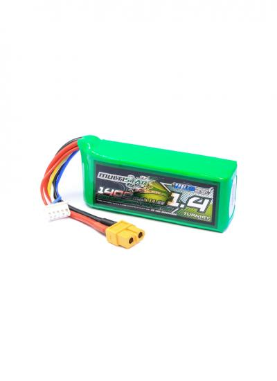 MultiStar 1400mAh 4S 40C LiPo Battery XT60 (With LED Indicator)