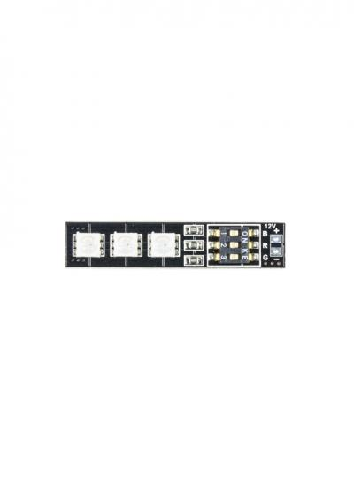 Mateksys RGB Colour Switchable 16V 5050 LED Board (47x10mm)