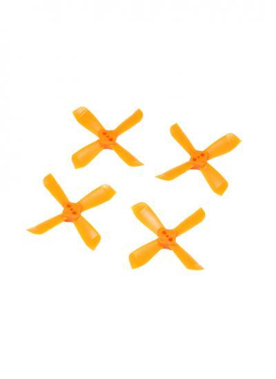 2035 4 Blade Propeller Set for DYS Shark Mako (2CW & 2CCW) - Orange