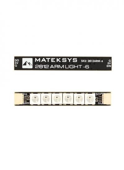 Matek 2812 Arm Light 6X RGB LED (4PCs)