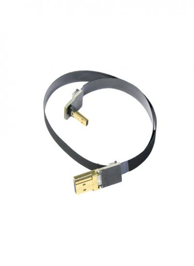 30cm HDMI Micro to Standard HDMI Flat Ribbon Cable
