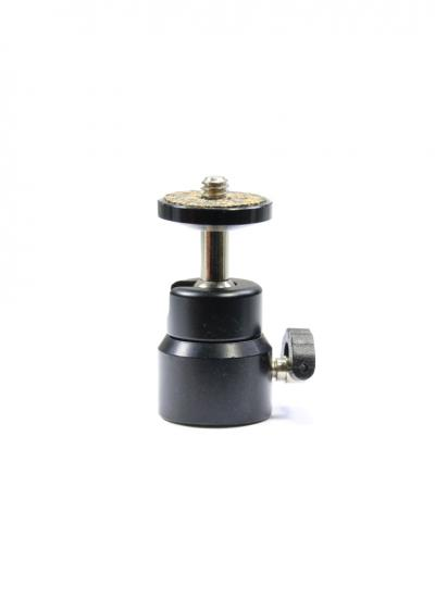 "360 Degree Swivel 1/4"" Screw Mini Tripod Ball Head Mount"