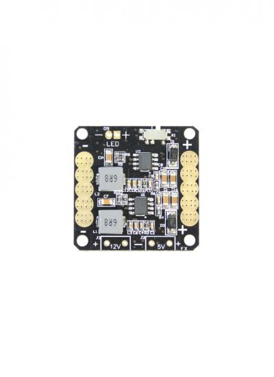 CC3D Mini Power Distribution Board PDB with 5/12v BEC & LED Switch (36mm)