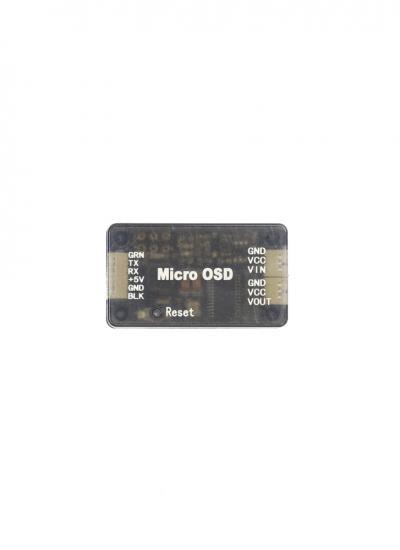 MAVlink 3DR Micro OSD for APM2.5/2.6/2.8 & Pixhawk