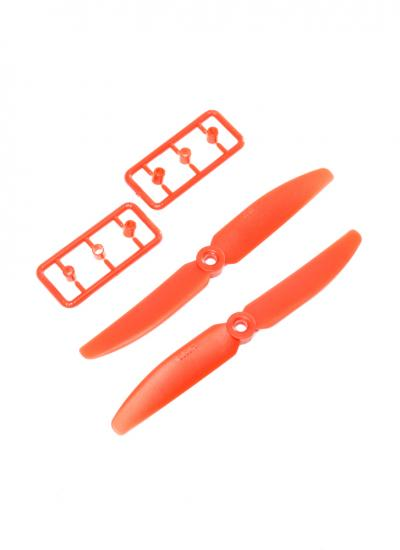 Racing Drone 5030 5X3 Plastic Nylon Propeller Set CW/CCW - Red