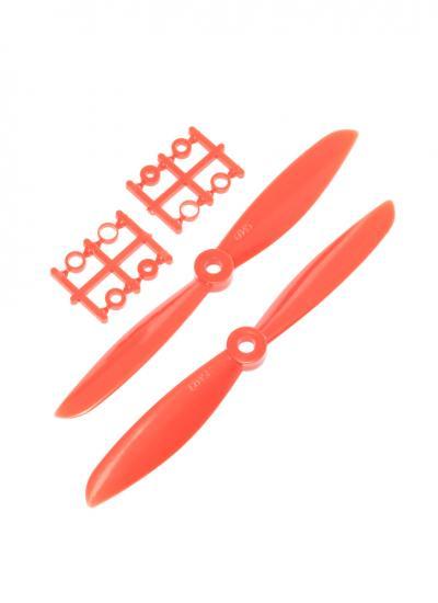 Racing Drone 6045 6X45 Plastic Nylon Propeller Set CW/CCW - Red