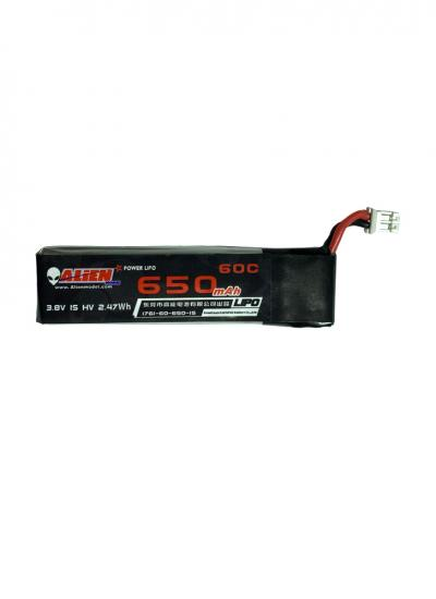 650mAh 1S HV 30C LiPo Battery for Moblite7 JST-PH2