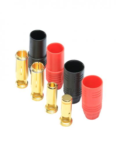 Amass AS150 7mm Gold Bullet Anti Spark Connector Pair