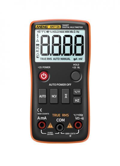 ANENG AN113A Auto Range Intelligent Digital Multimeter
