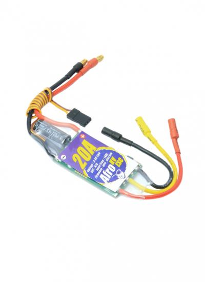 Afro High Voltage Speed Controller - 20A ESC 3-8s (SimonK)