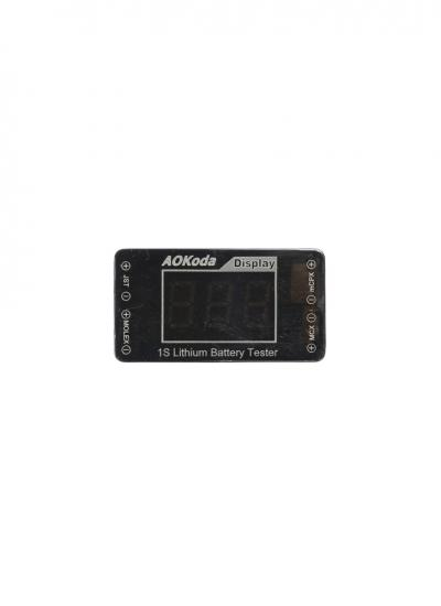Aokoda 1S Battery Voltage Tester for LiPo & Li-Hv
