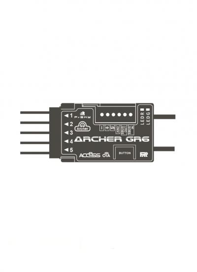 FrSky Archer GR6 Receiver with Vario Sensor - ACCESS Protocol