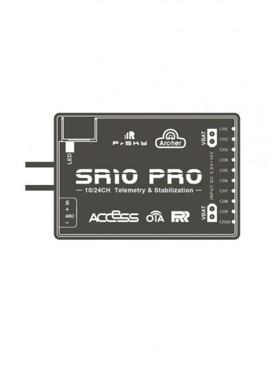 FrSky 2.4GHz ACCESS Archer SR10 Pro Receiver with Stabilisation