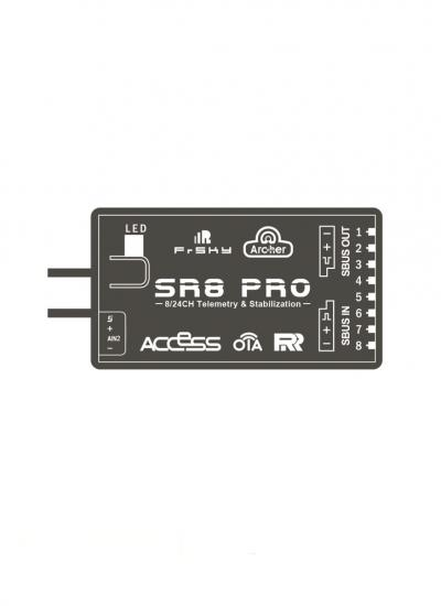 FrSky 2.4GHz ACCESS Archer SR8 Pro Receiver with Stabilisation