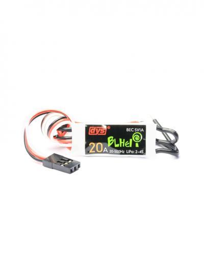 DYS BLB20A BLHeli 2-4S 20A Mini ESC with 5V 1A BEC