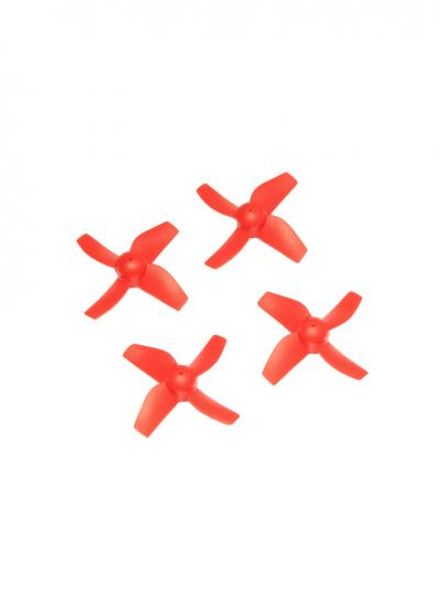 Spare Propeller Set for Blade Inductrix Tiny Whoop - Red