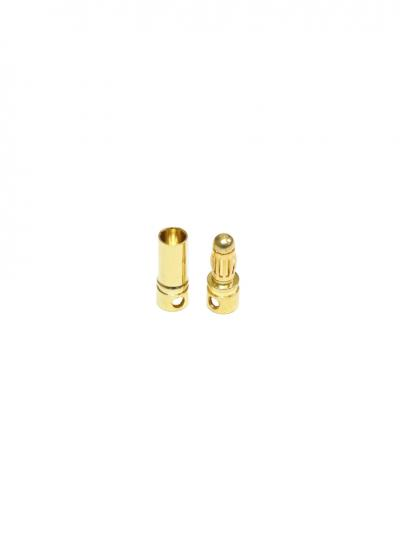 3.5mm Gold Bullet Connector Banana Plug
