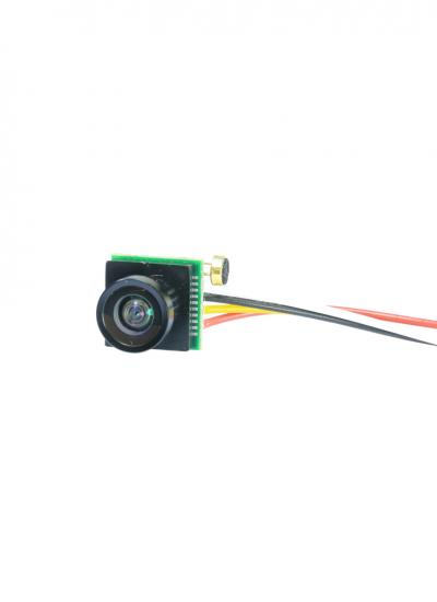 Micro 700TVL CMOS FPV Camera with 1.8MM 170 Degree Wide Angle Lens - PAL 3.7-5V