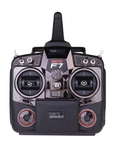 "Walkera DEVO F7 7-CH 2.4GHz Digital Radio Transmitter w/ 3.5"" FPV Monitor"