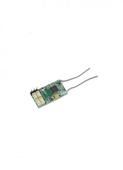 Micro 4-CH PWM 2.4GHz DSMX / DSM2 Receiver with PPM
