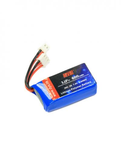 DYS 600mAh 2S 25C LiPo XH-2P XH-3P - Original DYS ELF Battery