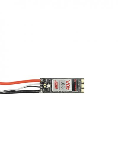 DYS ARIA Slim 40A 3-6S BLHeli 32Bit Dhsot 1200 3-6S OPTO ESC with LED & Current Sensor