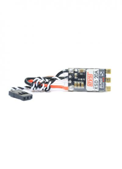 20A DYS XSD20A BLHeli_S Dshot 3-4S OPTO ESC with Solder Pads & Case
