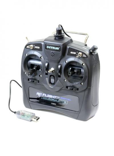 Dynam Detrum 8-Channel USB Flight Simulator Transmitter