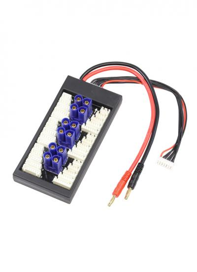 EC5 Parallel Charging Board for 6 Packs - (2-6S JST-XH)