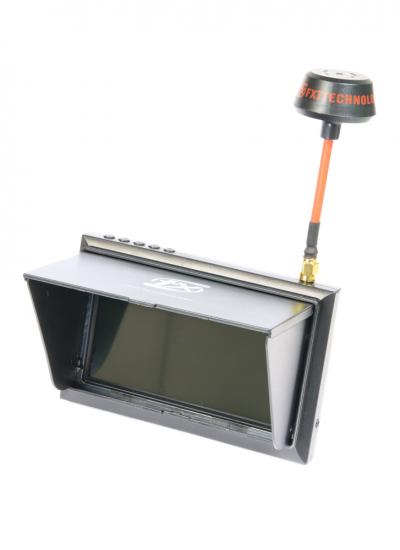 "FXT F408 4.3"" All-in-One 5.8GHz 32CH FPV Monitor with Raceband"