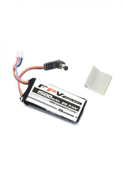 Quanum FPV Headset Fat Shark Compatible Goggle Battery 7.4V 1500mAh