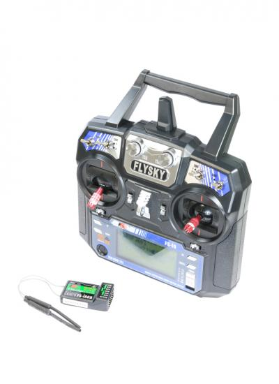 FlySky FS-i6 6CH Transmitter with iA6B 2.4GHz PPM Telemetry Receiver (Mode 2)