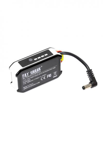 Fat Shark 1800mAh 7.4v Goggle Battery with USB Charging