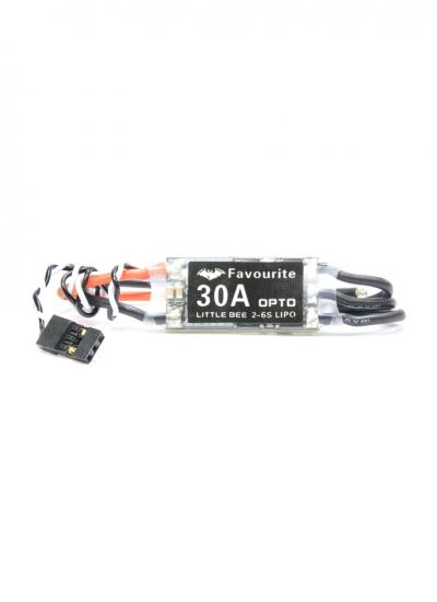 Little Bee FVT 30A OPTO 2-6S BLHeli Mini ESC Supports Oneshot & Active Braking