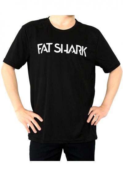 Fat Shark Black T-shirt - Large