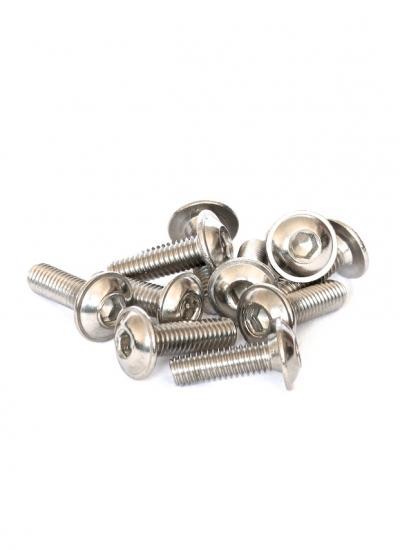 Flanged Button Socket Cap M3 X 10MM