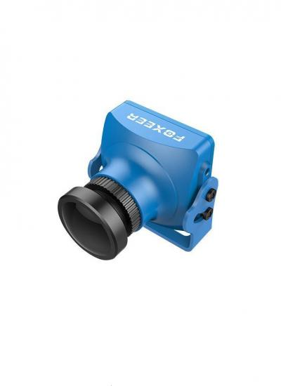 Foxeer Arrow V3 FPV Sony CCD WDR Camera with Built in OSD & MIC (Blue)