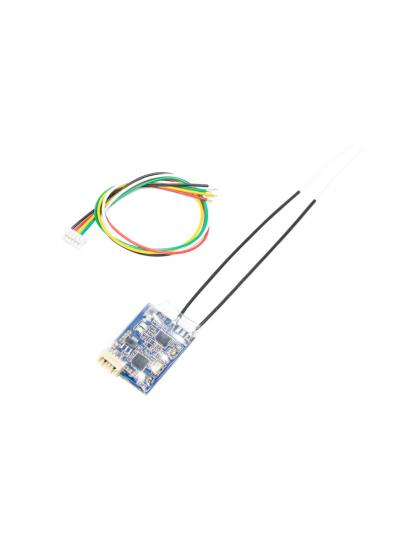 FrSky XSR 2.4GHz 16CH ACCST Receiver with SBUS & CPPM - LBT Version (EU Firmware)